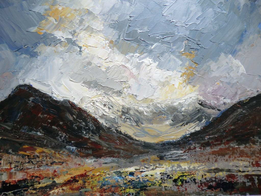 STORM OVER TRYFAN