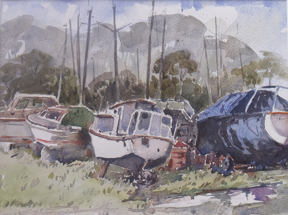 Boats at Gallows Point