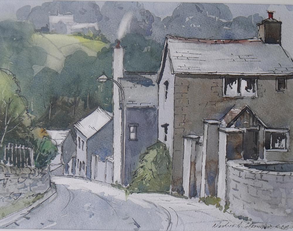 Down the hill at Llanfair TH